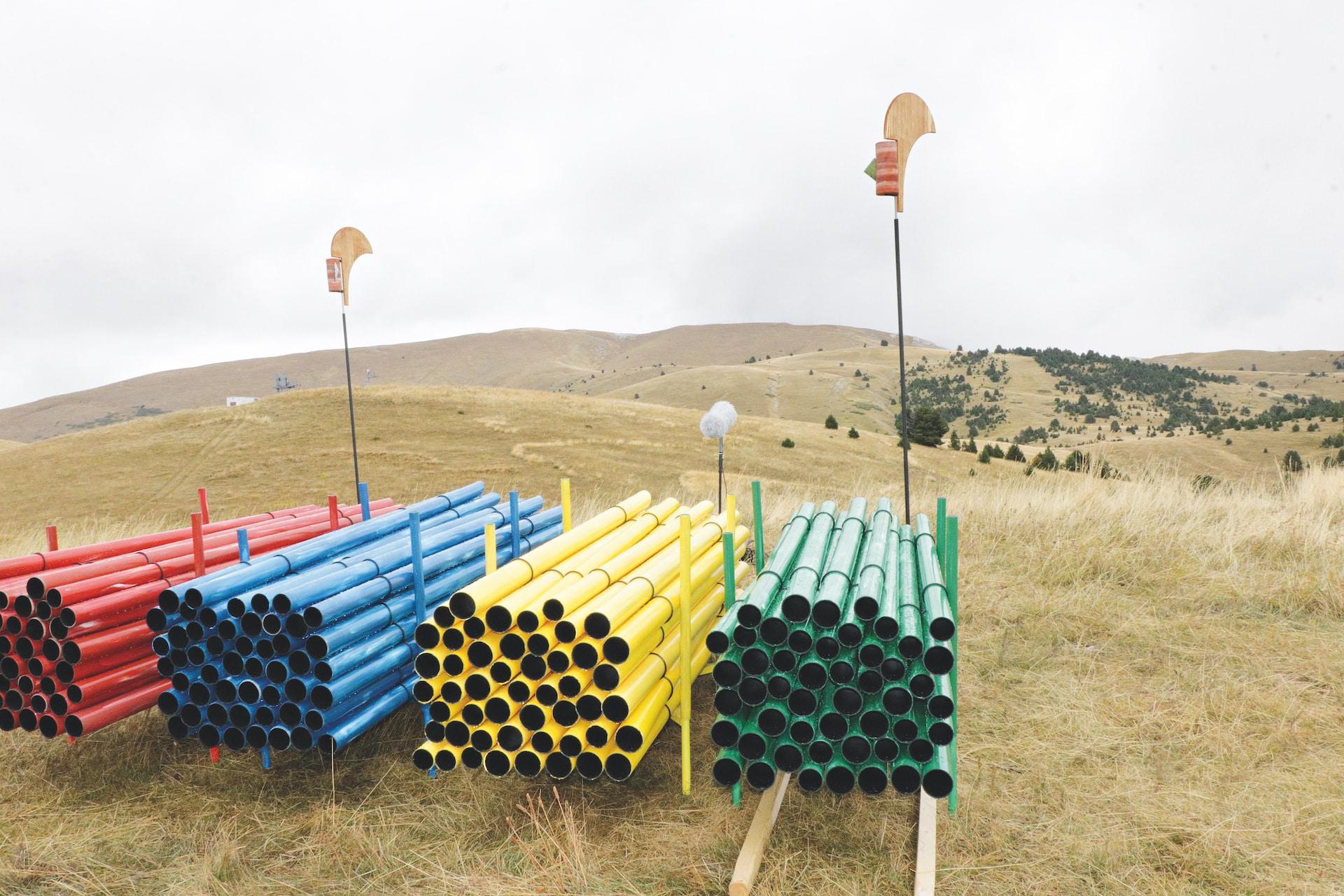 Ceuze Wind Turbine Art and Sound Alejandro Guzzetti